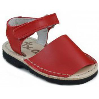 Sapatos Criança Sandálias Arantxa MENORQUINAS A S ROJO
