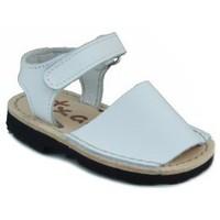Sapatos Criança Sandálias Arantxa MENORQUINAS HECHA A MANO NIÑOS BLANCO
