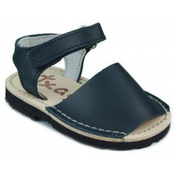 Sapatos Criança Sandálias Arantxa MENORQUINAS HECHA A MANO NIÑOS MARINO