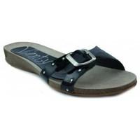Sapatos Mulher Sandálias Vienty BIO PLANO CHAROL NEGRO