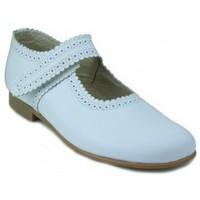 Sapatos Rapariga Sapatilhas Rizitos MERCEDES VELCRO BLANCO