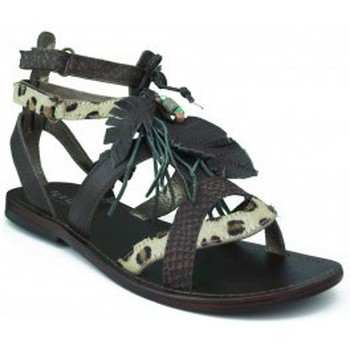 Sapatos Rapariga Sandálias Oca Loca OCA LOCA  PIEDRAS MARRON