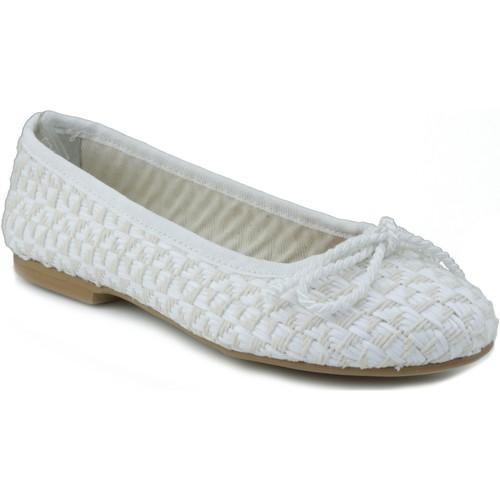 Sapatos Mulher Sabrinas Oca Loca OCA LOCA RAFIA BLANCO