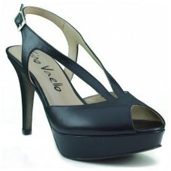 Sapatos Mulher Escarpim Gino Vaello ALSKA IRIS NEGRO