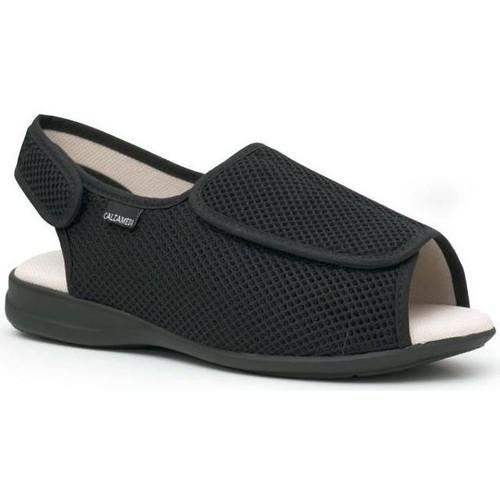 Sapatos Chinelos Calzamedi Sapatos  confortável NEGRO