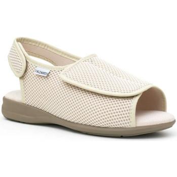 Sapatos Mulher Chinelos Calzamedi Sapatos  confortável BEGE