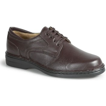 Sapatos Homem Sapatos Calzamedi ORTOPÉDICO CABALLERO CONFORTÁVEL M MARRON