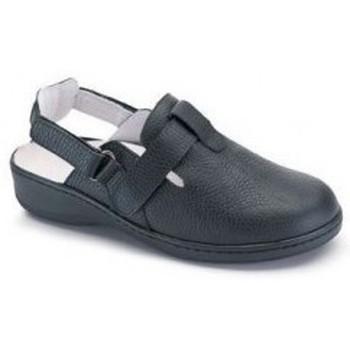 Sapatos Mulher Chinelos Calzamedi DOBLE  W NEGRO