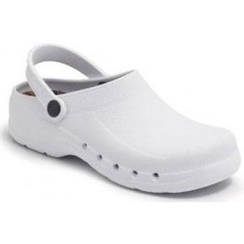 Sapatos Chinelos Calzamedi SANITARIO PVC Y ANATOMICO BLANCO