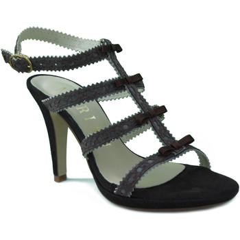 Sapatos Mulher Sandálias Marian SANDALIA TACON FIESTA MARRON