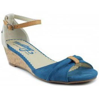 Sapatos Mulher Sandálias MTNG MUSTANG AFELPADO LONTA AZUL