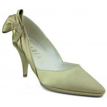 Sapatos Mulher Escarpim Marian ZAPATO DE MUJER FIESTA RASO TACON DORADO