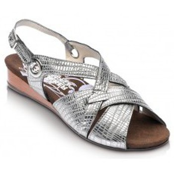 Sapatos Mulher Sandálias Drucker Calzapedic SANDALIA COMODA PLATA