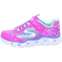 Sapatos Rapariga Sapatilhas Skechers Galaxy Lights Kinder Cor-de-rosa