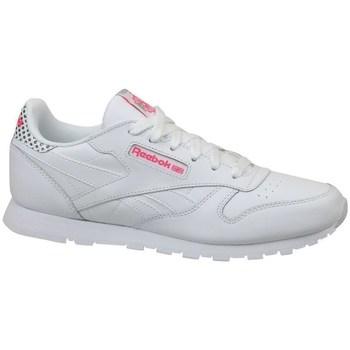 Sapatos Criança Sapatilhas Reebok Sport CL Leather Girl Squad Branco