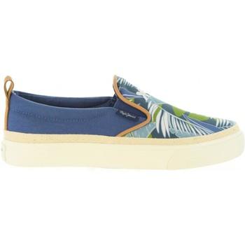 Sapatos Criança Sapatilhas Pepe jeans PBS30273 TRAVELER Azul
