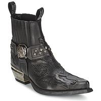 Sapatos Mulher Botas baixas New Rock PRETO Preto