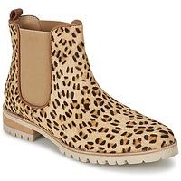 Sapatos Mulher Botas baixas Maruti PARADISE Branco / Preto