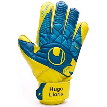 Acessórios Luvas Uhlsport Eliminator Speed Up Soft Advanced Lloris Hydro blue-Lite fluor yellow