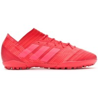 Sapatos Chuteiras adidas Performance Nemeziz Tango 17.3 Turf Real coral-Red zest-Core black