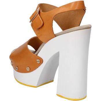 Sapatos Mulher Sandálias Suky Brand Sandálias AC485 Castanho