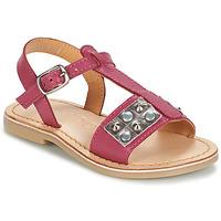 Sapatos Rapariga Sandálias Mod'8 ZAZIE Rosa