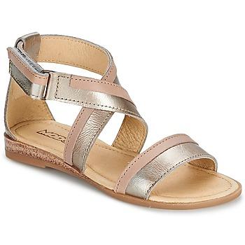 Sapatos Rapariga Sandálias Mod'8 JOYCE Ouro