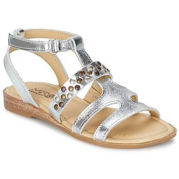 Sapatos Rapariga Sandálias Mod'8 JADE Prateado