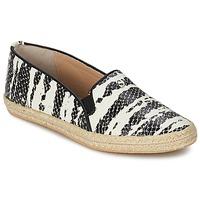Sapatos Mulher Slip on SuperTrash ALISA Serpente / Preto / Bege