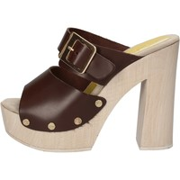 Sapatos Mulher Sandálias Suky Brand Sandálias AC764 Castanho