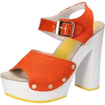 Sapatos Mulher Sandálias Suky Brand Sandálias AC802 laranja