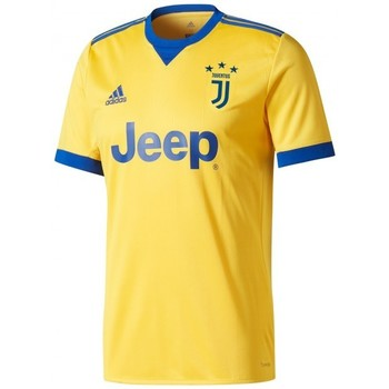 Textil Rapaz T-Shirt mangas curtas adidas Performance Jr Juventus Alternativo 2017-2018 Bold gold-Collegiate royal