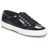 Sapatos Mulher Sapatilhas Superga 2750-LEAPATENTW Preto