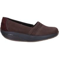 Sapatos Mulher Mocassins Mbt Sneakers AC906 Castanho