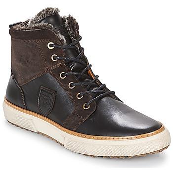 Sapatos Homem Sapatilhas de cano-alto Pantofola d'Oro BENEVENTO UOMO FUR MID Castanho