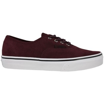 Sapatos Criança Sapatos estilo skate Vans authentic suede port royale tweed Bordéus