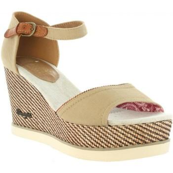 Sapatos Mulher Sandálias Wrangler WL171681 JEENA Beige