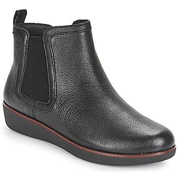 Sapatos Mulher Botas baixas FitFlop CHAI Preto