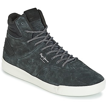 Sapatos Homem Sapatilhas de cano-alto Pepe jeans BTN 01 Marinho