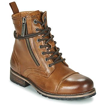 Sapatos Mulher Botas baixas Pepe jeans Melting Castanho