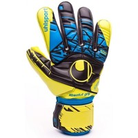 Acessórios Luvas Uhlsport Eliminator Speed Up Absolutgrip HN Lite fluor yellow-Black-Hydro blue