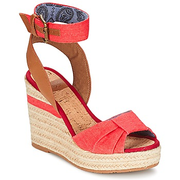 Sapatos Mulher Sandálias Napapijri BELLE Vermelho