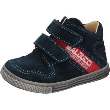 Sapatos Rapaz Sapatilhas de cano-alto Balducci Sneakers AD585 Azul