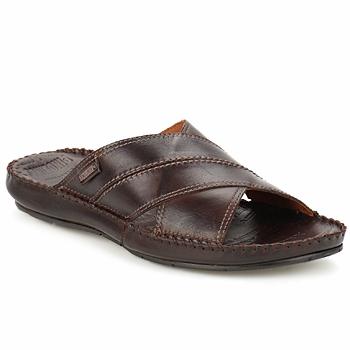 Sapatos Homem Sandálias Pikolinos TARIFA Castanho