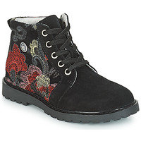 Sapatos Rapariga Botas baixas Catimini CAHAUT Preto