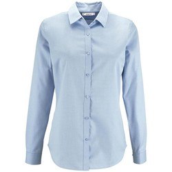 Textil Mulher camisas Sols BRODY WORKER WOMEN Azul