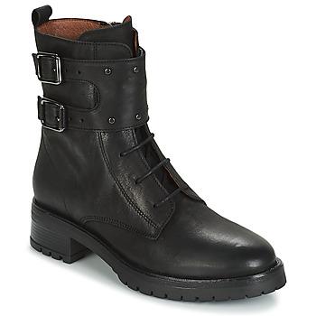 Sapatos Mulher Botas baixas Ikks REGNAUT Preto