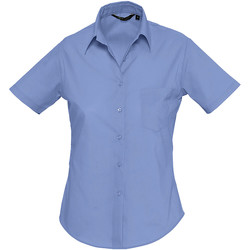 Textil Mulher camisas Sols ESCAPE Azul
