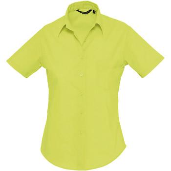 Textil Mulher camisas Sols ESCAPE POPELIN WOMEN Verde