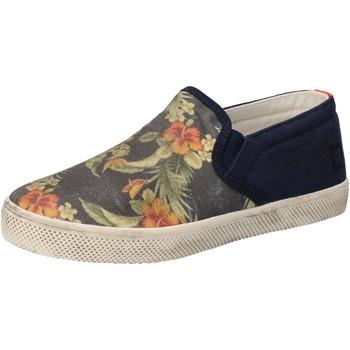 Sapatos Rapariga Slip on Date AD858 Azul